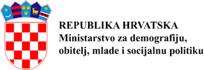 Ministarstvo za demografiju, obitelj, mlade i socijalnu politiku